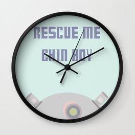 Rescue Me Chin Boy Wall Clock