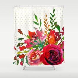 Flowers bouquet #37 Shower Curtain