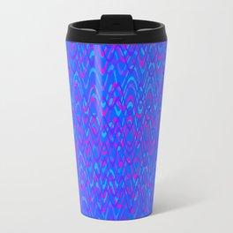 color waves 3 Travel Mug