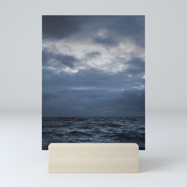 The Sea and the Sky Mini Art Print