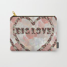 Big Love in Hearts Carry-All Pouch
