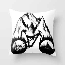 New Enduro Throw Pillow