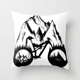 New Enduro Throw Pillow
