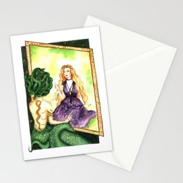 Reflections of the past Stationery Cards