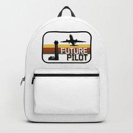 Future Airplane Pilot Backpack