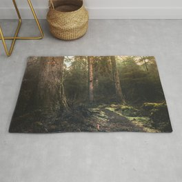 Olympic National Park - Pacific Northwest Nature Photography Rug