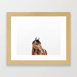 I <3 my horse Framed Art Print