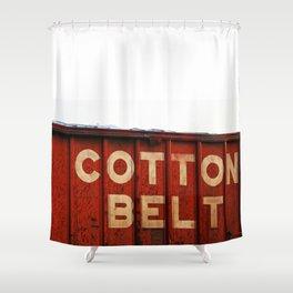 The Cotton Belt Shower Curtain