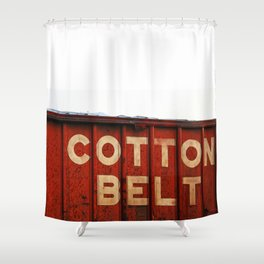 The Cotton Belt Shower Curtain