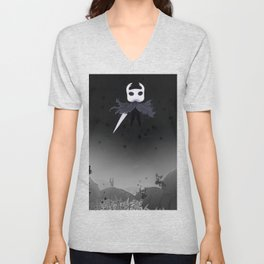 Hollow Knight in the Abyss Unisex V-Neck