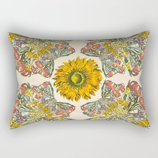 The Universal language of flowers II Rectangular Pillow