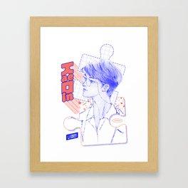 NCT DREAM JAEMIN Framed Art Print