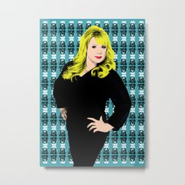 Soap Queens - Sharon Eastenders Metal Print