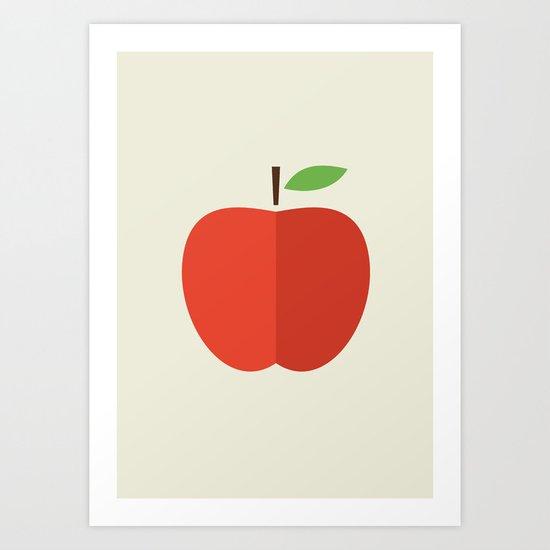 Apple 17 Art Print