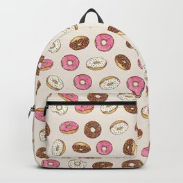 ALL the donuts! Rainbow on Cream Backpack