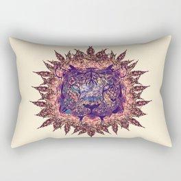 Tiger Design Rectangular Pillow