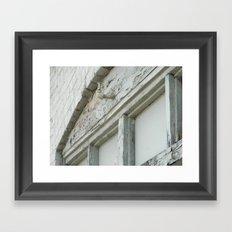 Peeling Framed Art Print