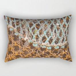 texture - connections Rectangular Pillow