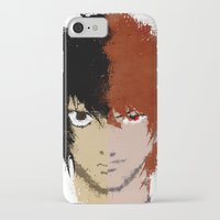 death note iPhone & iPod Cases featuring Death Note by Divya Tak