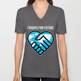Fridays For Future Stop Climate Change Save Gift Unisex V-Neck