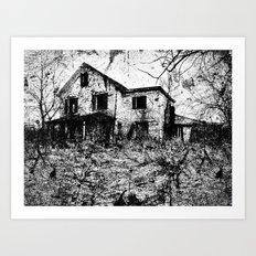 murder. Art Print