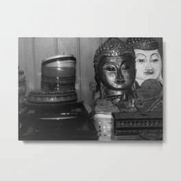 Myanmar's Treasure Metal Print