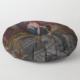 comfort before confession Floor Pillow