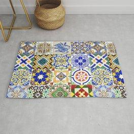 Azulejo — Portuguese ceramic #15 Rug