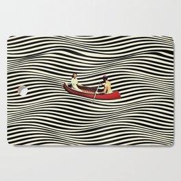 Illusionary Boat Ride Cutting Board