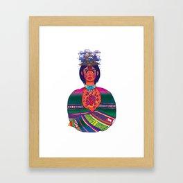 La Cholita: Para Siempre by Soledad Framed Art Print