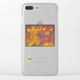 Hard Rain Clear iPhone Case
