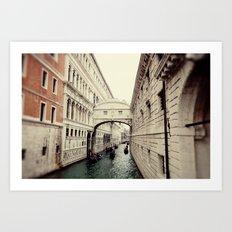 Bridge of Sighs I Art Print