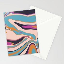 Marblized 7 Stationery Cards