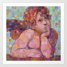 Sistine Cherub No. 1 Art Print