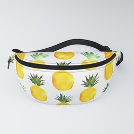 Pineapple love || watercolor Fanny Pack