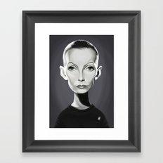 Greta Garbo Framed Art Print