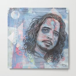 Chris Cornell - Nearly Forgot My Broken Heart Metal Print