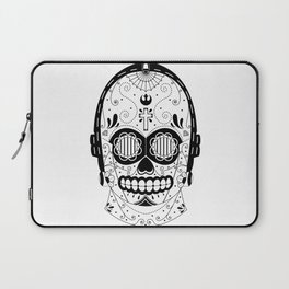 C3PO Sugar Skull Laptop Sleeve