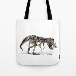 Mechanical T.Rex Tote Bag