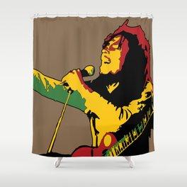 Redemption - Reggae Marley Shower Curtain