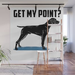 German Shorthair Pointer Hunting Hunter Gundog Wall Mural