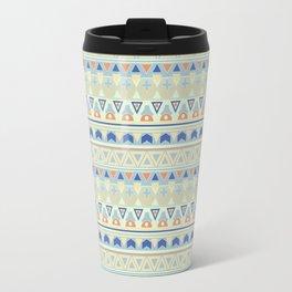 Ethnic , tribal , pastel Travel Mug