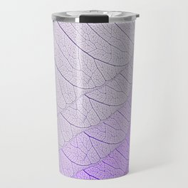 Leaves Purple Travel Mug
