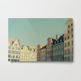 Wroclaw City Center Metal Print
