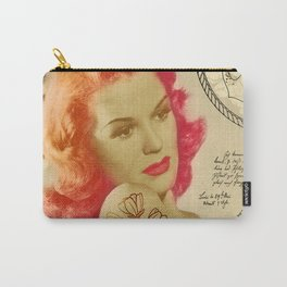 Rockabilly Dolly - Lauren Carry-All Pouch