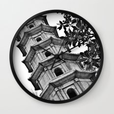 Temple Wall Clock