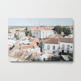Mértola Art Print | Portugal Travel Photography | Mértola Alentejo Metal Print