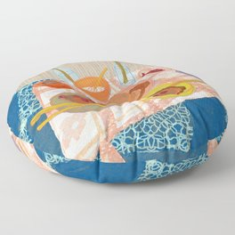 Pancakes: Still Life V Floor Pillow