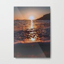 The Sean And The Beach Metal Print