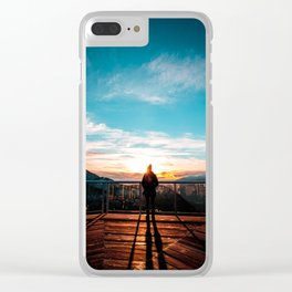 Sea to Sky Clear iPhone Case